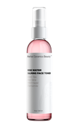HD Beauty Rose Water Calming Face Toner and Mist with Green Tea, Aloe and Hyaluronic Acid for Hydration, Toning and Priming, 4 oz.