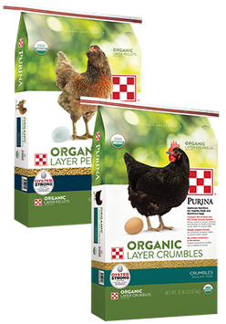 Purina�� Organic Layer Pellets or Crumbles