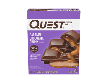 Quest Protein Bars - Caramel Chocolate Chunk