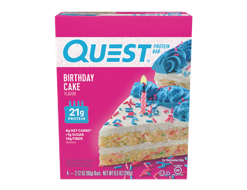 Quest Protein Bars - Birthday Cake