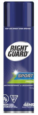 Right Guard Antiperspirant & Deodorant Aerosol Sport Fresh 157G