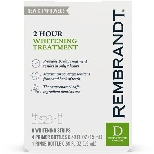 Rembrandt 2 Hour Whitening Treatment