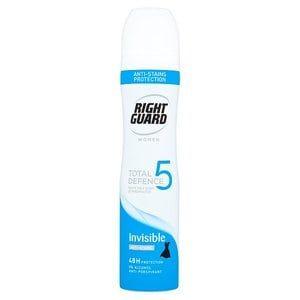 Right Guard Women TD5 Invisible Anti-Perspirant 250ml