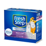 Fresh Step Advanced Multi-Cat Scented Litter with the power of Febreze