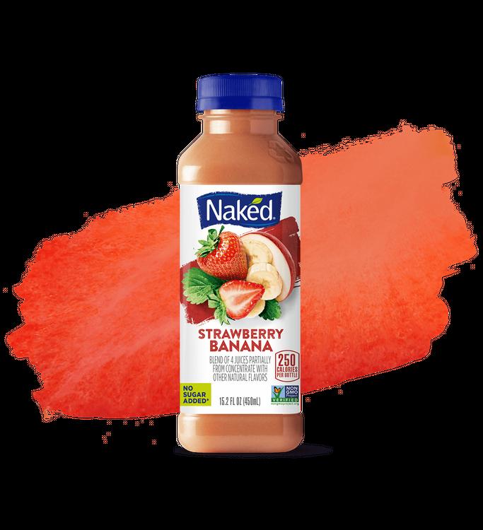 Amazon.com : Naked Strawberry Banana 100% Juice 64 Oz (2