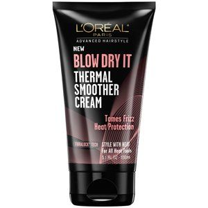L'Oreal Paris BLOW DRY IT Thermal Smoother Cream