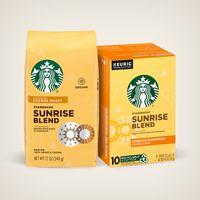 Starbucks® Blonde Sunrise Blend