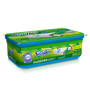 Swiffer® Sweeper Wet™ Mopping Pad Refills - Febreze® Lavender Vanilla & Comfort Scent