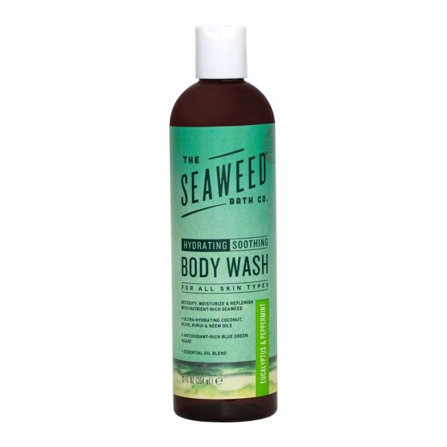 Wildly Natural Seaweed Body Wash - Eucalyptus + Peppermint