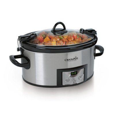 Crockpot™ 6-Quart Cook & Carry™ Slow Cooker, Programmable
