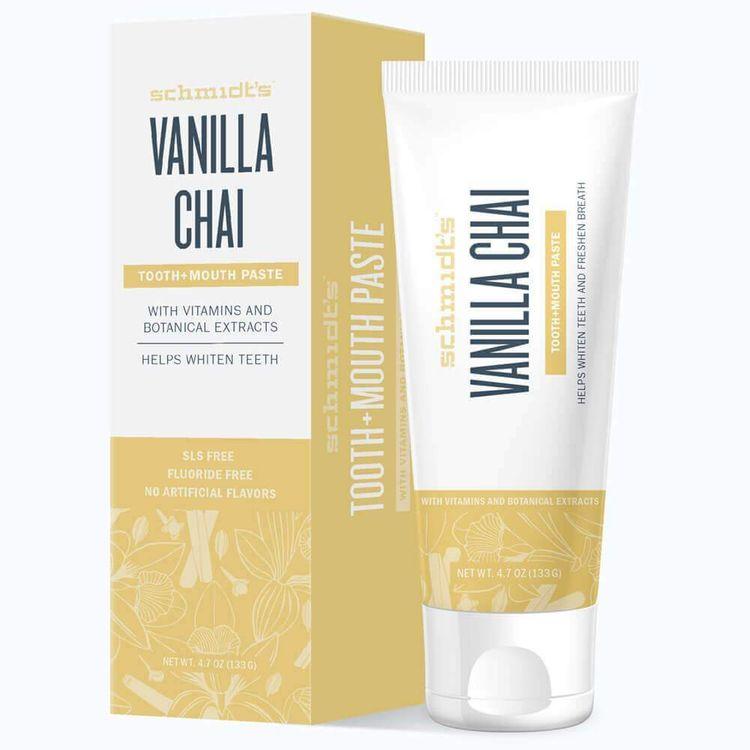 Schmidt's Vanilla Chai Tooth+Mouth Paste