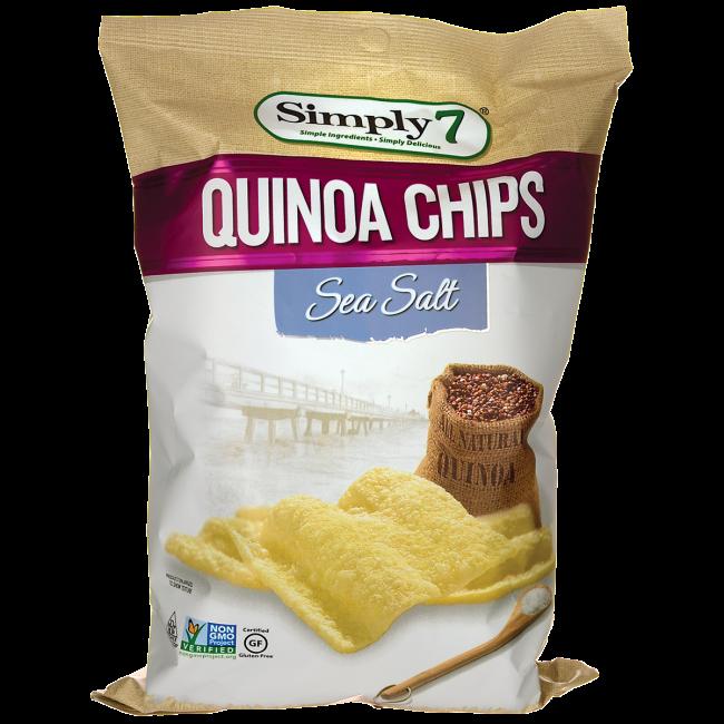 Quinoa Chips - Sea Salt