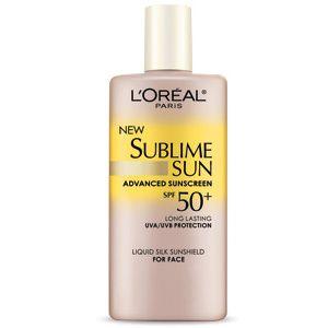 L'Oréal Paris SPF 50+ Liquid Silk Sunshield For Face