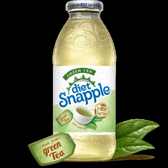 Diet Snapple Green Tea