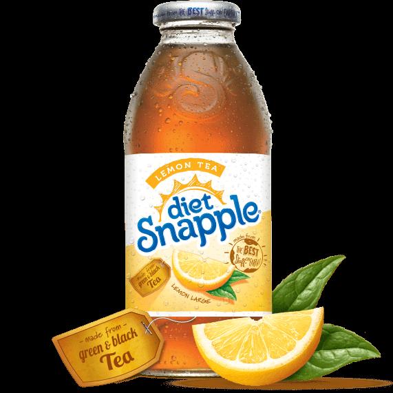 Diet Snapple Lemon Tea