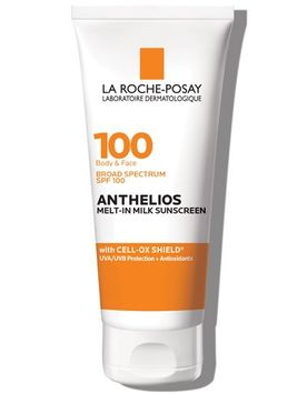 La Roche-Posay Anthelios Melt-In Milk Sunscreen for Face & Body SPF 100