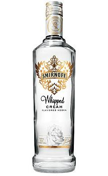 SMIRNOFF® Whipped Cream Vodka