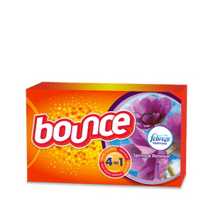 Bounce® Spring & Renewal® Fabric Softener Dryer Sheets