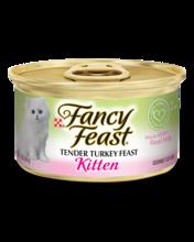 Fancy Feast® Kitten Classic Paté Tender Turkey Feast Wet Kitten Food