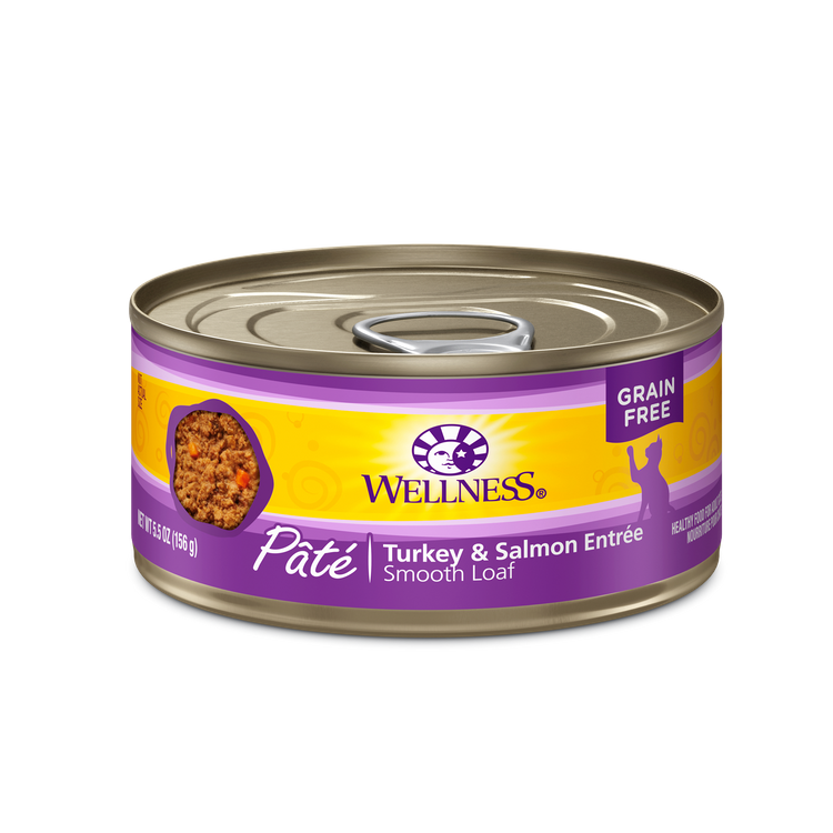Wellness® Complete Health™ Pâté Turkey & Salmon Entrée