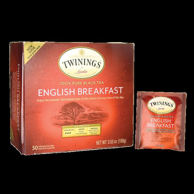 100% Pure Black Tea - English Breakfast
