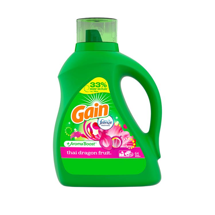 Gain Thai Dragon Fruit Liquid Laundry Detergent