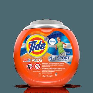 Tide PODS® Plus Febreze 4in1 Sport Odor Defense™