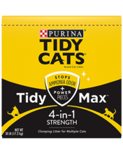 Tidy Cats® Tidy Max™ 4-In-1 Strength Clumping Cat Litter