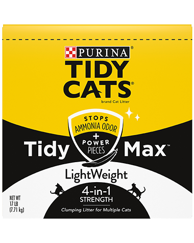 Tidy Max 4-in-1 Lightweight Cat Litter