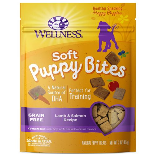 Wellness Puppy Bites Soft Lamb & Salmon