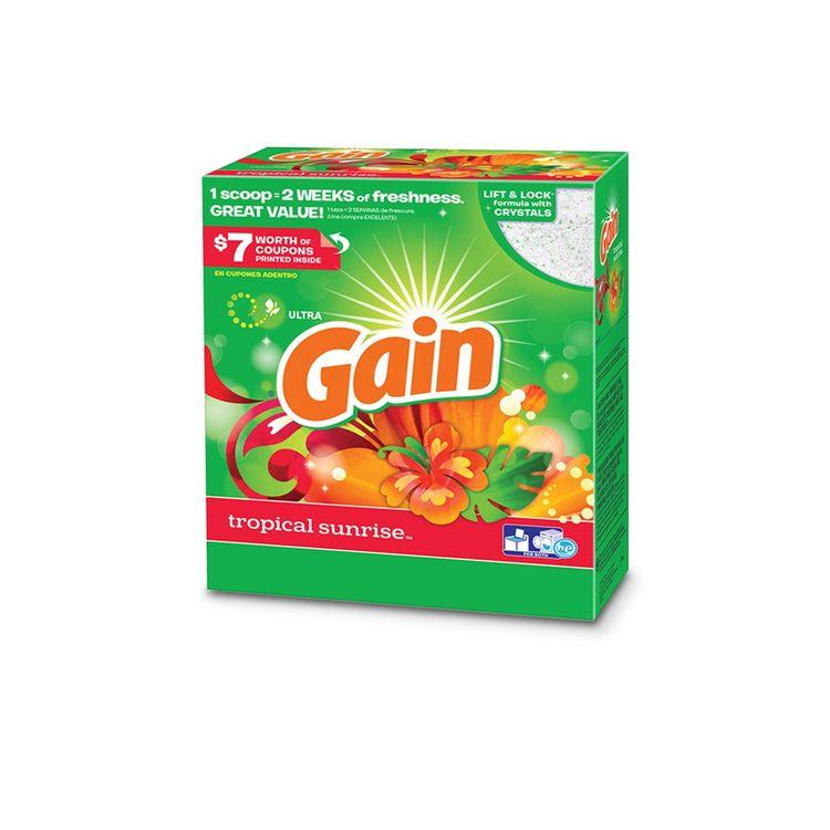 Gain Tropical Sunrise Powder Laundry Detergent