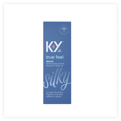 K-Y True Feel Silicone Based Lube