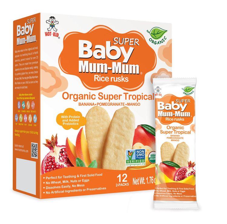Baby Mum-Mum Organic Super Tropical Rice Rusks