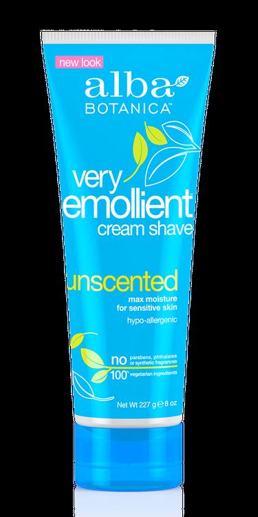Alba Botanica Very Emollient™ Cream Shave, Unscented