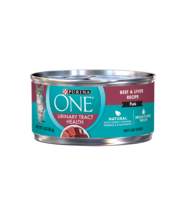 Purina ONE® Urinary Tract Health Beef & Liver Recipe Wet Cat Food