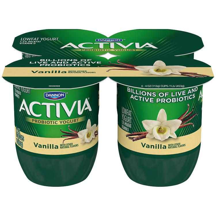 Yogurt Lowfat Vanilla 24 oz
