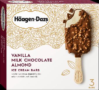 Haagen-Dazs Vanilla Milk Almond Ice Cream Bar