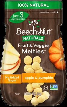 Beech-Nut apple & pumpkin fruit & veggie melties