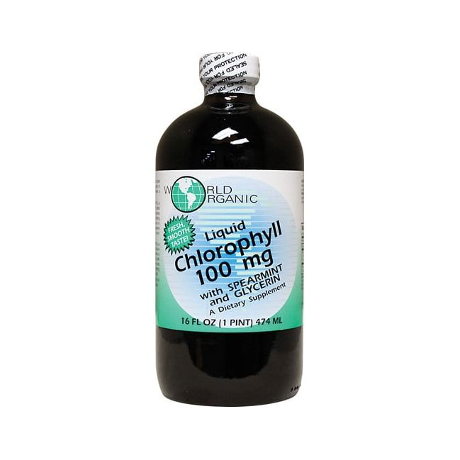 Chlorophyll Liquid with Spearmint and Glycerin