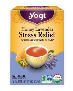 Yogi Tea Honey Lavender Stress Relief Tea