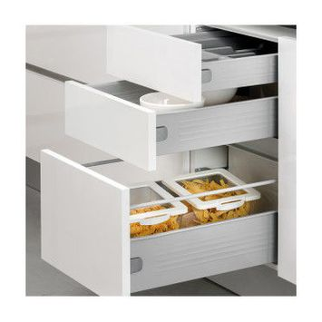 Emuca kit de tiroir pour cuisine et salle de bain ultrabox