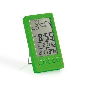 Station météo ultra design vert