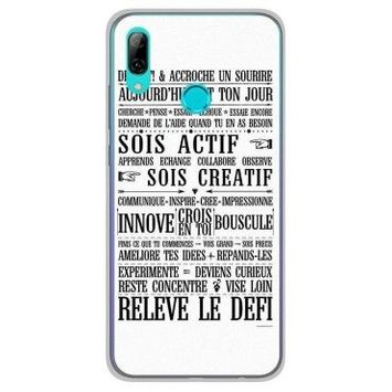 Coque silicone gel huawei honor 10 lite motif citation 11