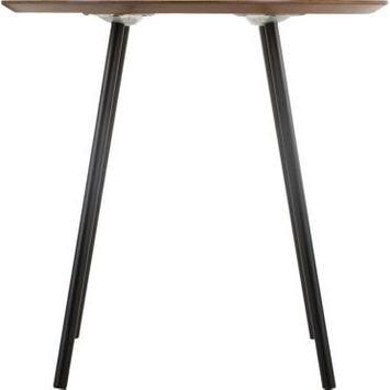 Table d'appoint contemp mileo - diam. 48 x h. 45 cm - bois