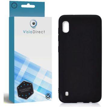 Coque de protection pour mobile iphone 6 6s noir souple silicone -visiodirect-