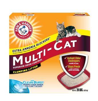 ARM & HAMMER™ Multi-Cat Strength Clumping Litter, Original