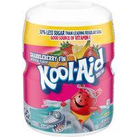 Kool-Aid Sweetened Sharkleberry Fin Powdered Drink Mix, Caffeine Free, 19 oz Jar