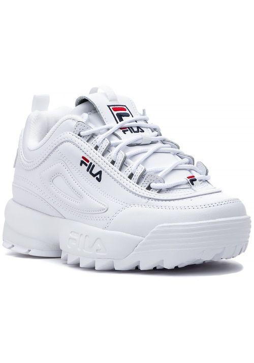 Womens Fila Disruptor II Premium Athletic Shoe