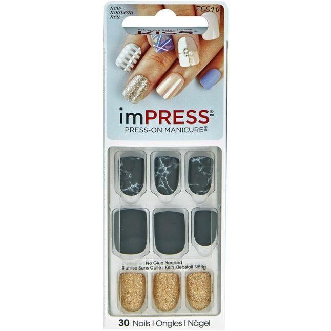 imPRESS Press-On Manicure selbstklebende Fingernägel - Yeah Boy