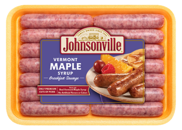 Johnsonville Vermont Maple Syrup Breakfast Sausage Links